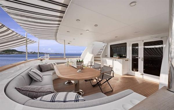 Tango 5 superyacht - Exterior