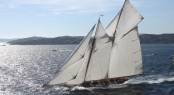 The 56m charter yacht - schooner Elena