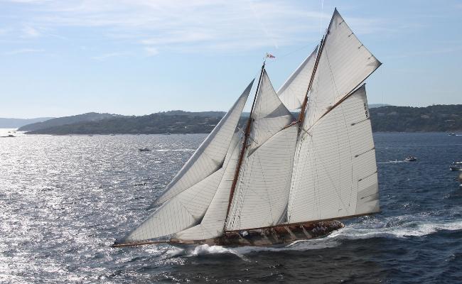 The 56m charter yacht - schooner Elena