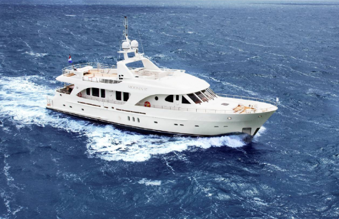 The fourth Moonen 97 motor yacht Alaska