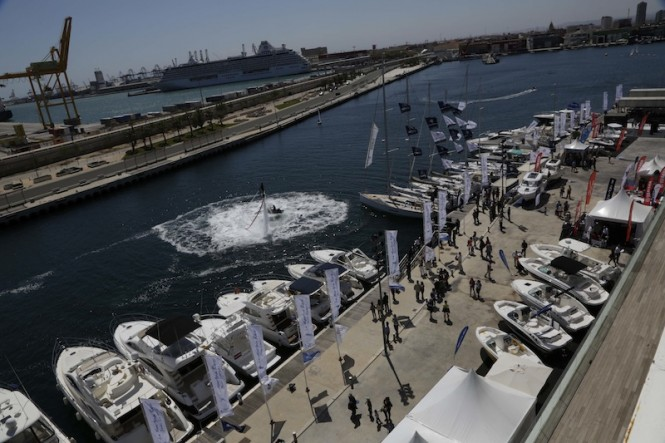 VLC Boat Show in Valencia, Spain