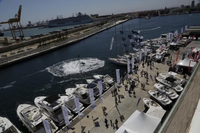 VLC Boat Show in Valencia, Spain