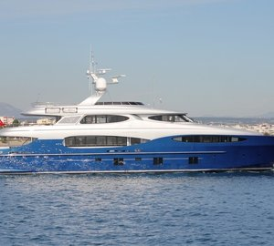 World Preview Presentation of 46m Vicem Yacht VULCAN at upcoming Antibes Yacht Show