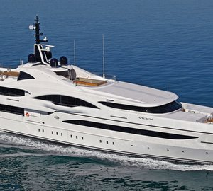 Award winning luxury yacht Vicky ready for Mediterranean charter