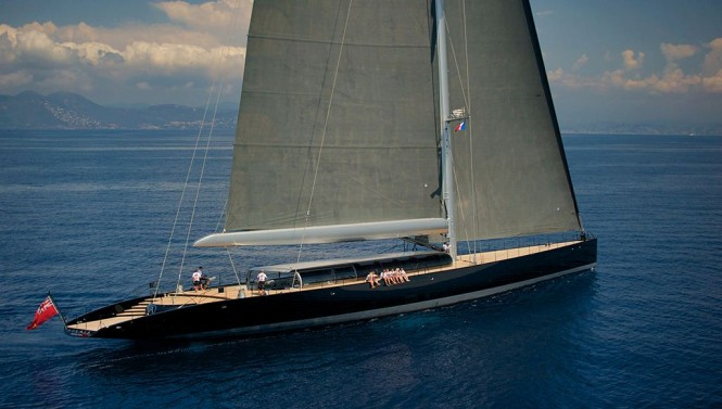 Vitters sailing yacht AGLAIA designed by Dubois Naval Architects