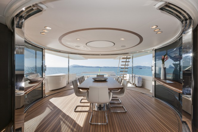 12th Navetta 33 Yacht - Dining