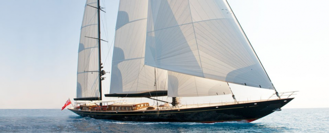 180ft Vitters sailing yacht Marie to attend the Shipyard Cup XI - Image credit Tom Nitsch Image