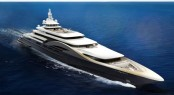 180m mega yacht My World concept by Newcruise