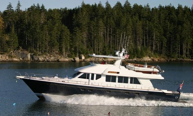 New Owner For 26m Lyman Morse Motor Yacht Acadia Designed
