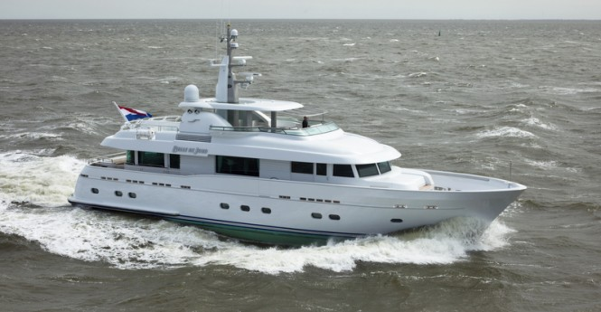 29m motor yacht Belle de Jour by Flevo Ship Holland