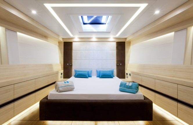 30m superyacht Hamilton - Master stateroom
