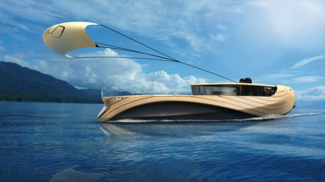 32m Cronos Yacht Concept