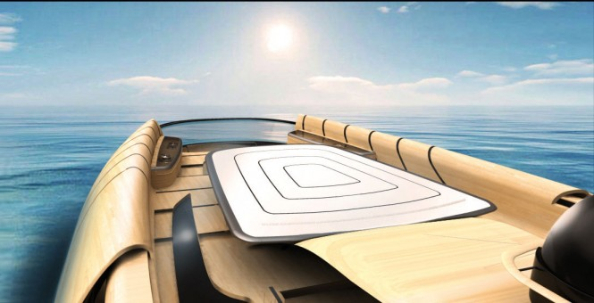 32m Cronos yacht concept - Sundeck