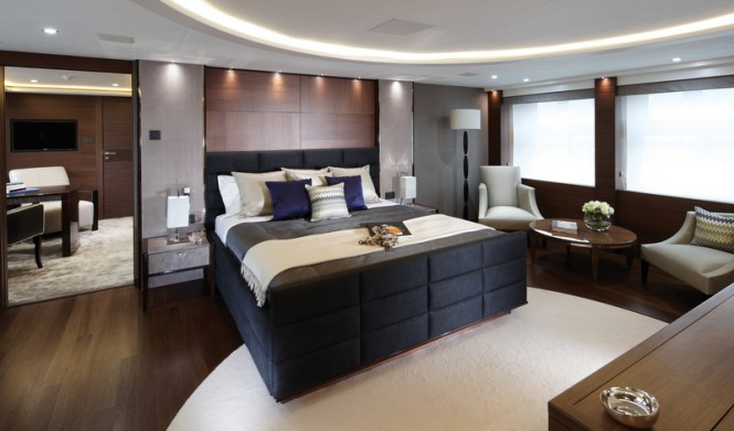 40M Yacht Imperial Princess - Master Stateroom