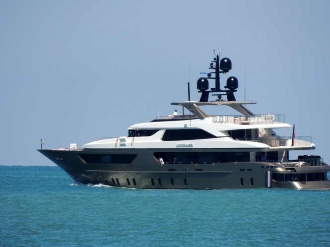 46m Achilles yacht by Sanlorenzo - Photo by Roberto Malfatti