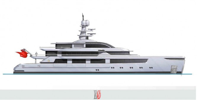 57m Sunrise motor yacht Project 561 designed by Espen Oeino