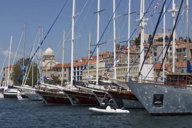 5th Adriatic Boat Show taking place in the beautiful Croatian yacht charter destination - Sibenik