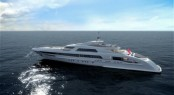65 m Heesen mega yacht Galactica Star (Project Omnia - YN 16465) equipped with five Seakeeper M21000 gyros