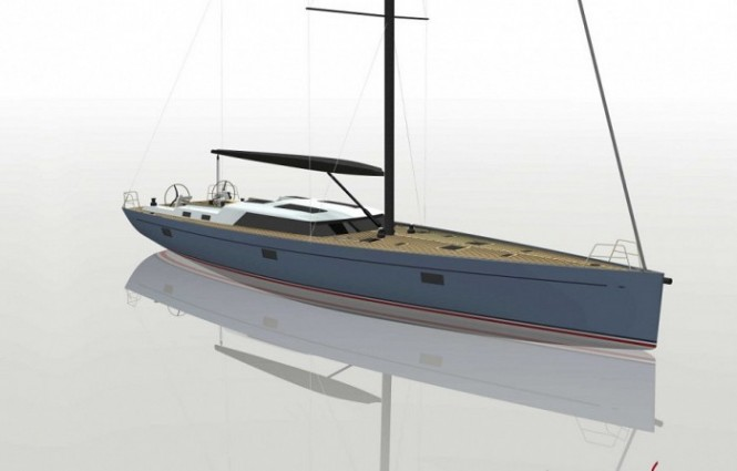72ft sailing yacht Bougainville by Claasen Shipyards