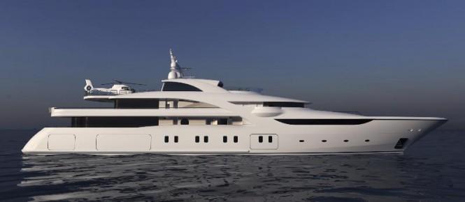 82m Blohm + Voss superyacht Graceful