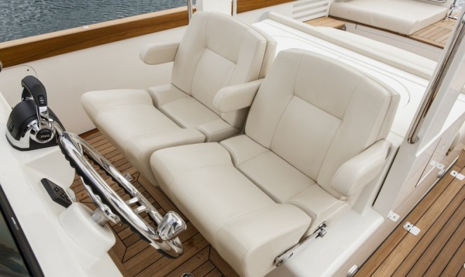 Aboard Hull 415 Open Superyacht Tender