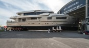 Admiral Impero 40 Yacht Cacos V at launch