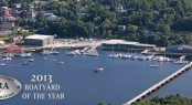 American Boat Builders and Repairers Association's annual Boatyard of the Year award for 2013 for Front Street Shipyard