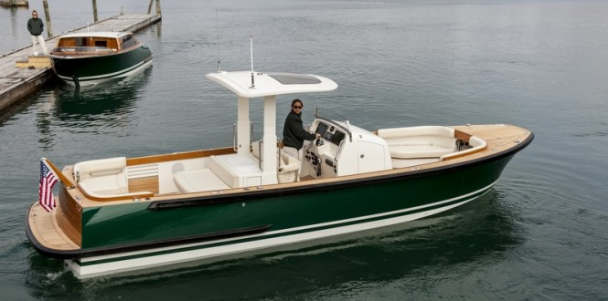 Andrew Winch designed Hull 415 Open and Hull 416 Limo Yacht Tenders