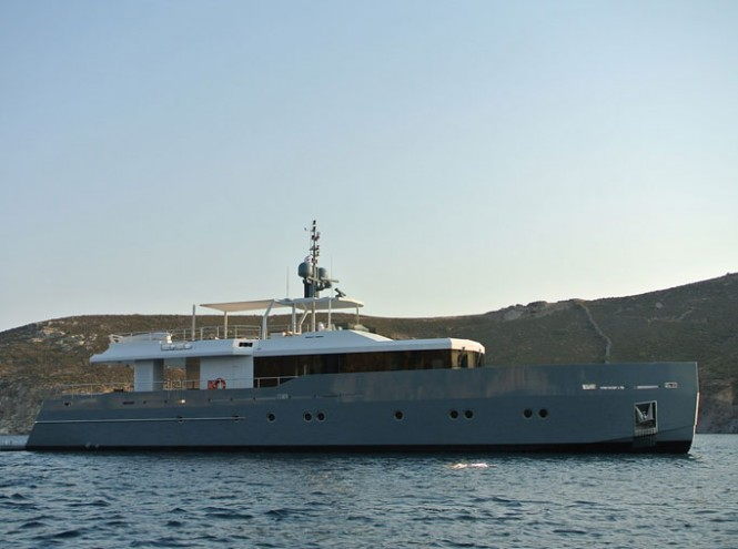 Another beautiful project of Tansu Yachts and Diana Yacht Design - Luxury motor yacht Only Now