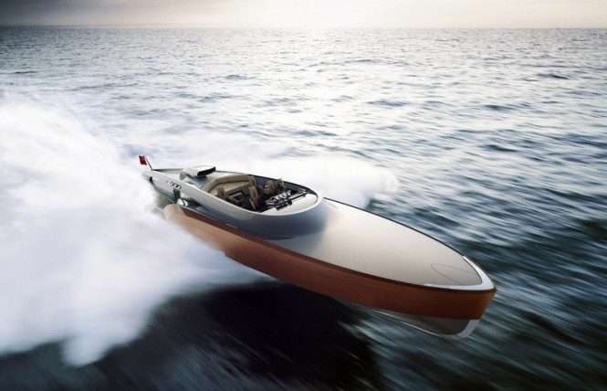 Claydon Reeves design Aeroboat superyacht tender
