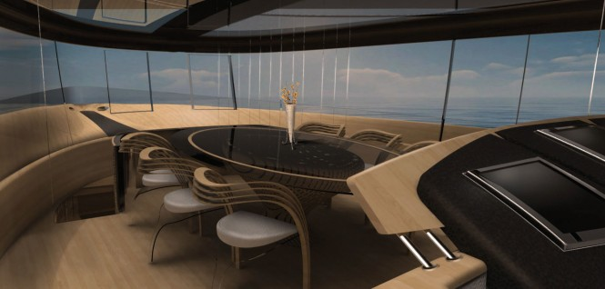 Cronos Yacht Concept - Dining