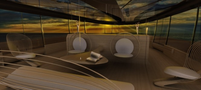 Cronos Yacht Concept - Interior