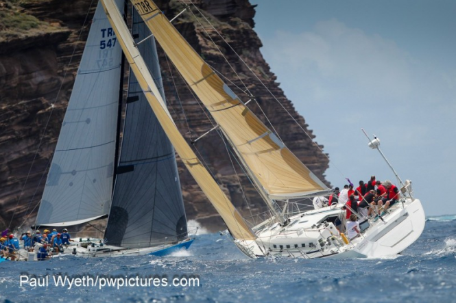 Day 3 at the 2013 Antigua Sailing Week