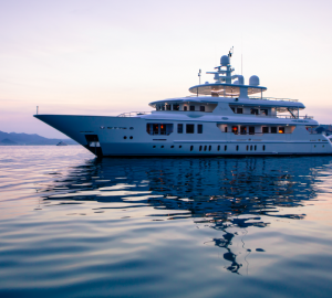 Sophisticated and Elegant 45m Motor Yacht PRIDE for charter in the Western Mediterranean