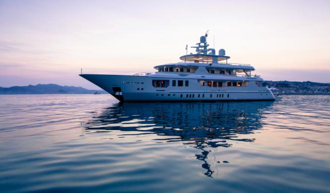 Elegant mega yacht PRIDE