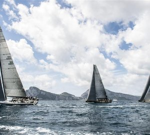 Rolex Capri Sailing Week Volcano Race 2013: Capricious conditions for Maxi yachts