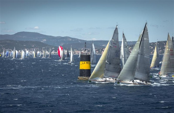 Group A Yachts, Start of the Offshore Race, Saint Tropez - Photo credit to Rolex Kurt Arrigo