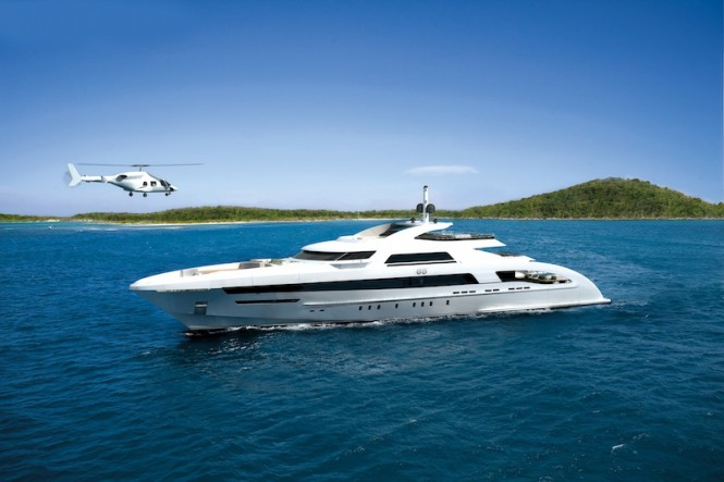 Heesen luxury yacht Galactica Star
