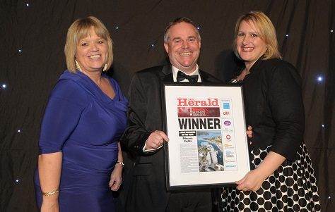 Herald Business Award 2013 for Princess Yachts