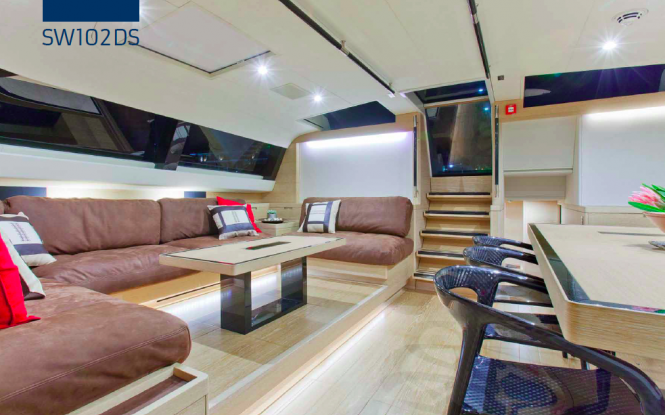 Hevea yacht with interior by Nauta Yachts