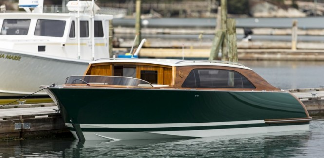 Hull 416 Limo Yacht Tender by Hodgdon Yachts