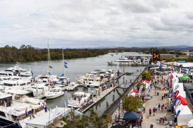 Hundreds of the world's best boating brands were on show over a 2 5km display circuit