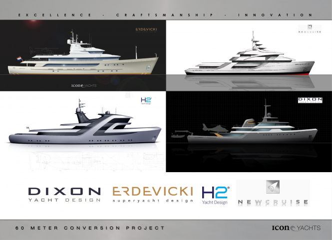 ICON Yachts - Conversion Project 2013