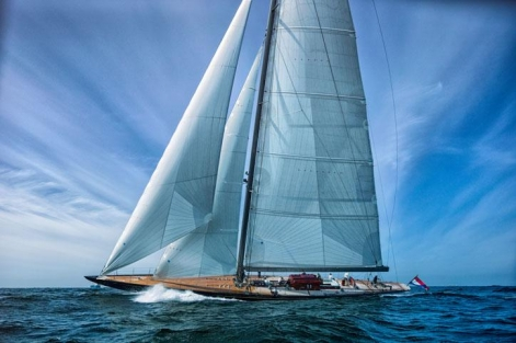 J Class superyacht Rainbow by Holland Jachtbouw