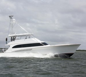 Newly launched Jarrett Bay 77 Yacht BLANK CHECK to be delivered soon