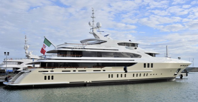 Lady Candy Yacht by Benetti