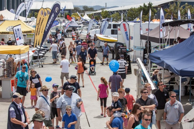 Last year more than 300 boating brands were on display at the Expo