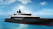 Latest 53m motor yacht LGH 53 Hybrid concept by Green Yachts