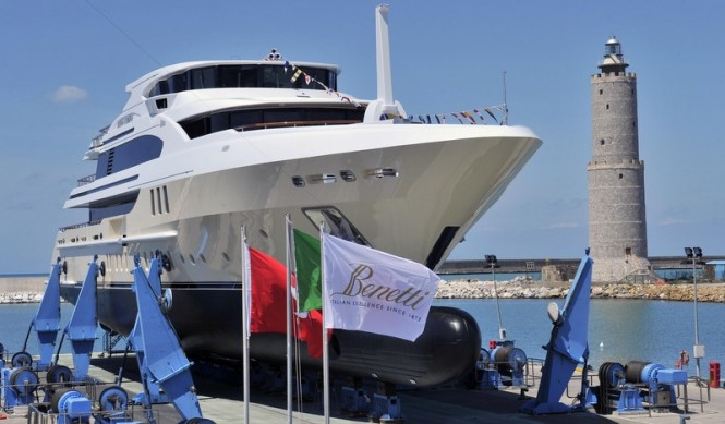 Launch of Lady Candy Yacht