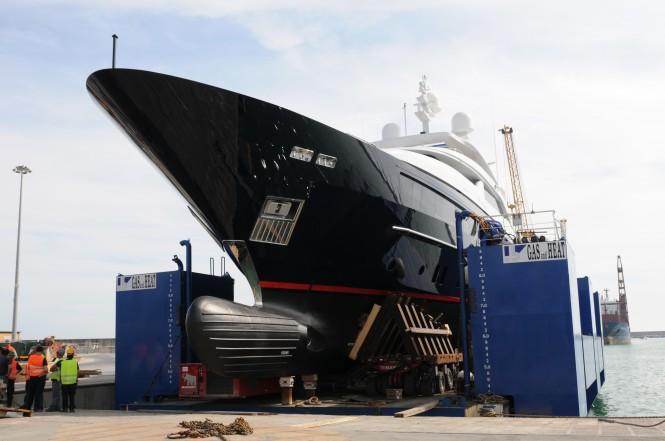 Launch of STARLING yacht - 5th Sanlorenzo 46 Steel yacht